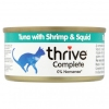 Thrive Complete Tuna with Shrimp & Squid 75g