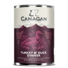 Over $300 preferential right Canagan grain-free Turkey & Duck Dinner Dog Can 400g