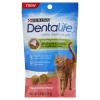 Purina Dentalife-DentaLife Salmon Cat Dental Treats-1.8oz