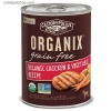 ORGANIX Grain-Free Chicken and Vegetable Grain Free Canned Caine Formula 12.7oz x 12 [36002]